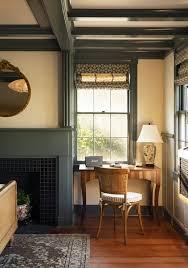 modern bedroom dark hardwood floors