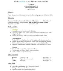 Human Services Resume Templates Interesting Human Services Resume Templates Caregiver Jobs Example Of Caregiver