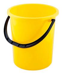 <b>Ведро Полимербыт</b> без крышки желтое 9 л 1 шт 9 л желтое ...