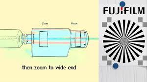 Flange Focal Distance Chart Zoom Lenses Adjustment Of The Flange Focal Length