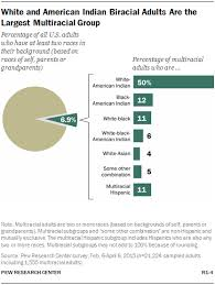 Welfare Chart By Race 2015 American Indian And White But Not Multiracial Pew