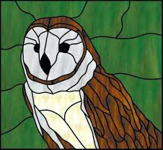 stained glass owls zoom free patterns