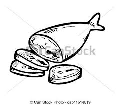 fish meat clipart. Unique Fish Fish Meat Doodle In Fish Meat Clipart F