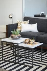 West Elm Living Room West Elm Metal Frame Upholstered Chair Stone Living Room