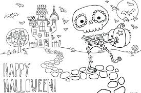 Cool Halloween Coloring Pages This Treat Loving Monster Coloring