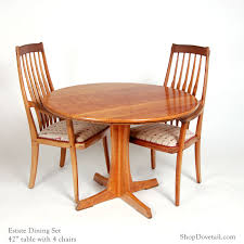 42 round table and 4 arm chairs san francisco estate