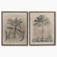 brockby set of two papaya wooden framed wall art annie mo s images 1 2  on set of two framed wall art with pictures and prints annie mo s