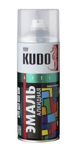 <b>КУДО</b> KU-1004 <b>Эмаль аэрозольная</b> универсальная вишневая (0 ...