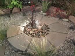Small Picture Unique Garden Design Gravel Photos Hgtv Backyard Water Feature