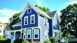 average cost of painting a house exterior blue style home average cost to paint house exterior