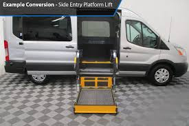 wheelchair lift for van. AMS Ford Transit Side Lift Conversion Images -- Thumb #5 Wheelchair For Van O