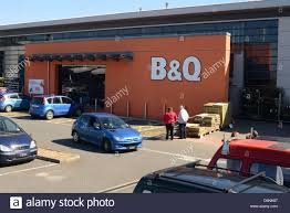 B & Q Store in Admiral Park, Guernsey, Channel Islands, GB