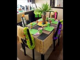 Small Picture Home decor Hawaiian luau party ideas YouTube