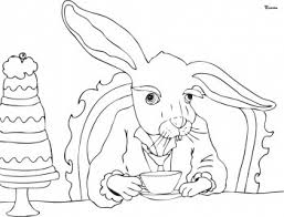 Small Picture alice in wonderland coloring pages tea party Coloring Pages