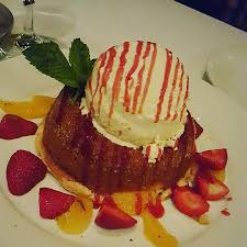 Warm Butter Cake Very Large Portion Be Ready To Indulge