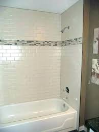 bathtub wall panels installing new and shower tub surround over tile