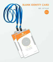 Fresh Company Badge Template Or Id Template Free Business Id Card