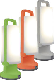 Solar Desk Light 12 W Cold White Lutec Dragonfly P 9041 Or Orange