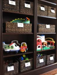 creative diy toy storage organizer ideas and inspiration featuring seagrass wicker bins