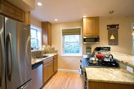 Full Image For Small Galley Kitchen Design Layouts Designs With Breakfast  Bar Pictures ...