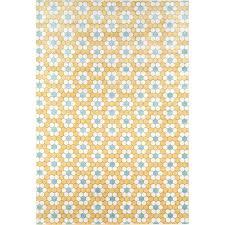 yellow rug runner