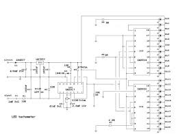 diy led tachomter rpm gauge 4 steps building the circuit