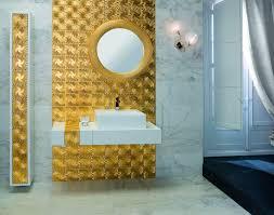3d Bathroom Tiles Bathroom Tile Wall Ceramic 3d Medussa Pure Gold Dune