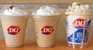 we try all of the pumpkin treats at dairy queen