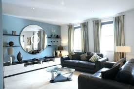blue accent wall living room astounding blue accent wall living room marvellous light ideas white living