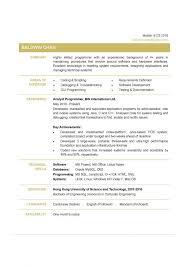 Kronos Programmer Resume] Kronos Programmer Resume Example .