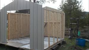 10x10 Chicken Coop Design Building The 10x10 Shed Kit Chicken Coop Part 1 From Home Depot