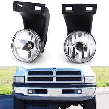 Fog Lights For Dodge Ram 1500 Complete Set Fog Lights Foglamps With 880 Halogen Bulbs For 2nd Gen 1994 2001 Dodge Ram 1500 1994 2002 Ram 2500 3500