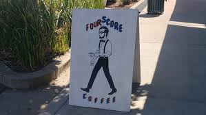 We are a coffee house located in the heart of the historic district of roseville. Historical Roseville Fourscore Coffee