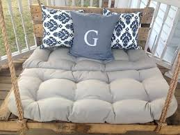 pallet bed swings pallet bed porch swing diy pallet bed swing instructions