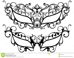 Masquerade Masks Vector Royalty Free Stock