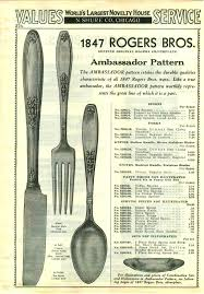 1847 Rogers Bros Patterns Simple Rogers Bros Silver Flatware Silverware 48 Patterns Xs Triple