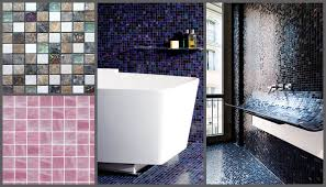 the most common use for mosaic tiles within a bathroom is to create a patterned effect some people choose to use a small section of mosaic tiles to accent