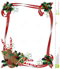 Christmas Border Design Images Christmas Cookies And Treats Border Stock Illustration