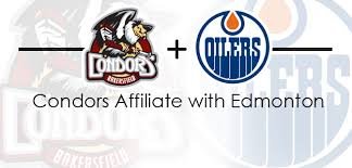 condors secure nhl affiliation with the edmonton oilers