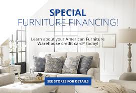 apply for your american furniture warehouse credit card today