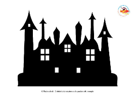 Casa Dei Fantasmi Da Stampare Per Halloween Filastroccheit