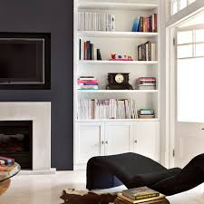 Fireplace Wall Shelves And Cabinets Dining Room Ideas