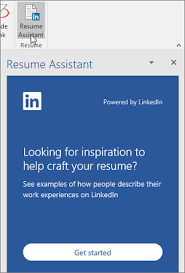 And Resume Write Your Best Resume With Help From Linkedin And Resume Assistant