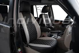landrover discovery 4 leather look natur brown