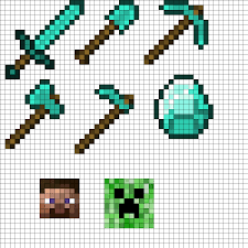 Perler Bead Minecraft Patterns