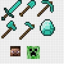 Perler Bead Minecraft Patterns