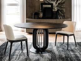 soho round dining table keramik