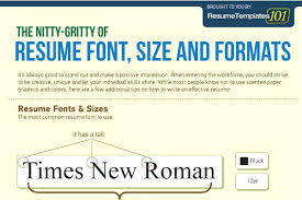 Best Font Size For Resume - Font size for cover letter