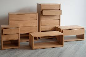 contemporary oak bedroom furniture. Black Lotus Cube Solid Oak Bedroom Furniture Collection Contemporary