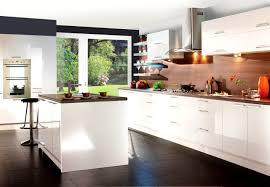 Bathroom  Foxy High Gloss White Kitchen Modern Better Kitchens - Better kitchens